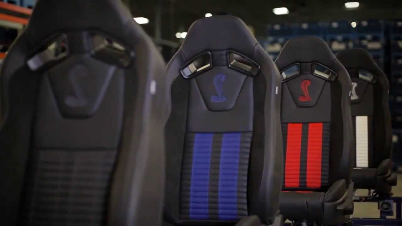 Ford Mustang Seats By Recaro Featuring Tanner Foust Youtube