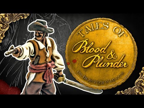 Blood & Plunder Battle: French Chaseurs Vs. Spanish Militia