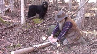 Making Useful Tools In The Woods From Natural Materials