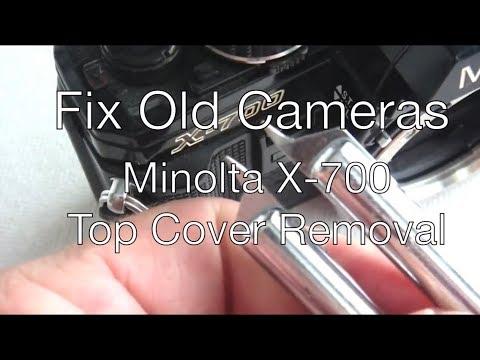 minolta x700 camera repair service manual guide