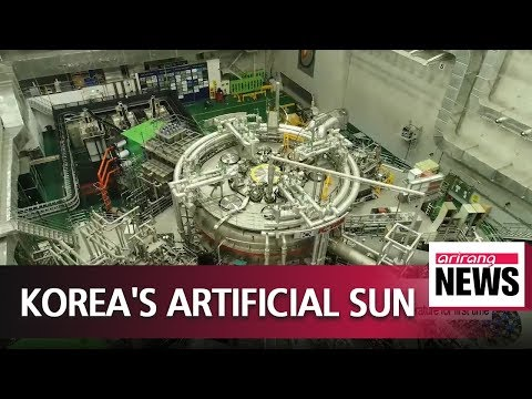 S. Korea's K-Star fusion device reaches record plasma temper