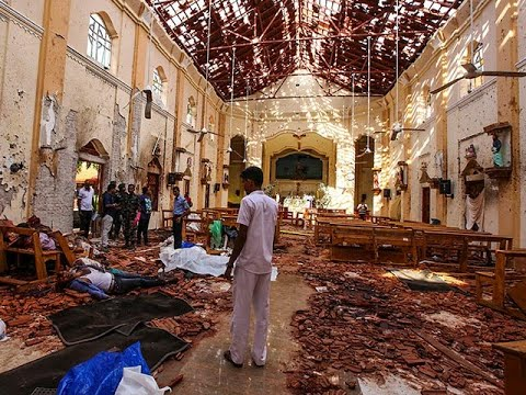 Sri Lanka: 8 serial blasts at Colombo hotels and churches kill more than 200