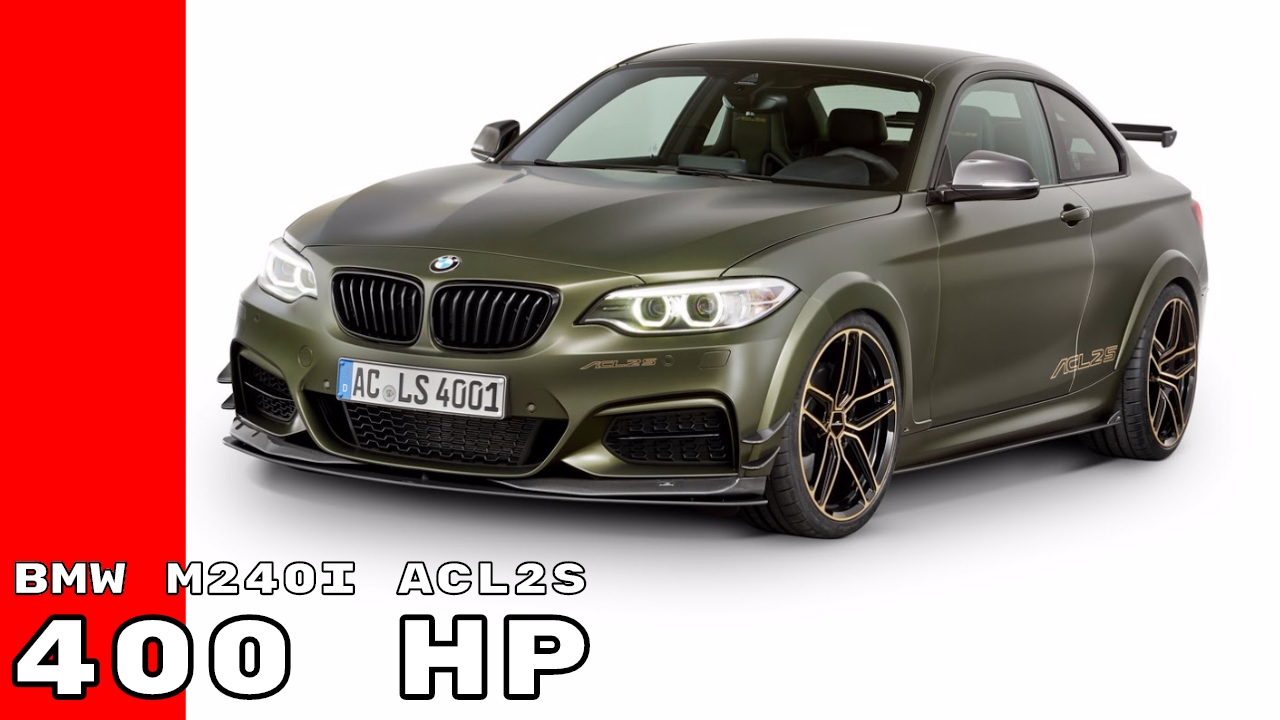 400hp bmw m240i acl2s by ac schnitzer will scare m2 owners. Black Bedroom Furniture Sets. Home Design Ideas