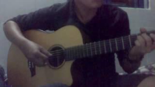 Tự lau nước mắt. Guitar cover