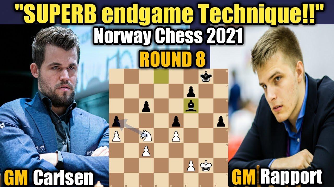Download Norway Chess 2021 | Magnus Carlsen VS Richard Rapport | Round 8