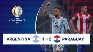 HIGHLIGHTS ARGENTINA 1 - 0 PARAGUAY | COPA AMÉRICA 2021 | 21-06-21