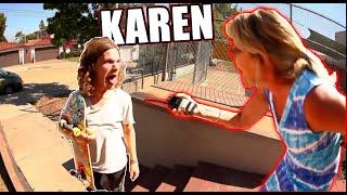 HERO DEFEATS KAREN