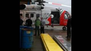 Irish Coast Guard Sikorsky S-92 - Irish Handover - Includes Taxying & S-61