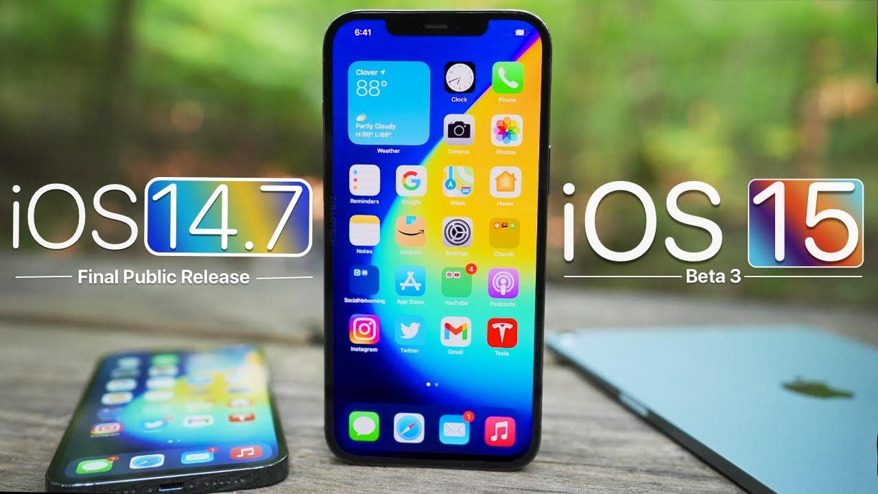 iOS 14.7 and iOS 15 Beta 3 - Features, Release, Follow Up Review