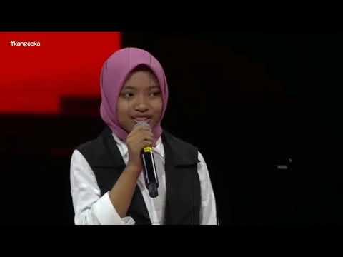 Agnes dan Tulus dibuat tercengang ketika Sharla Martiza mendendangkan salawat I The Voice Kids 2017
