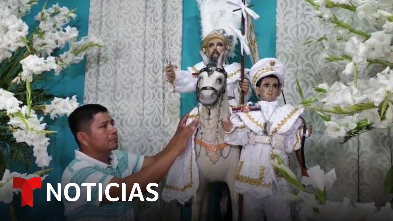 Este es el santo más venerado por los salvadoreños que viven en Estados Unidos   Noticias Telemundo
