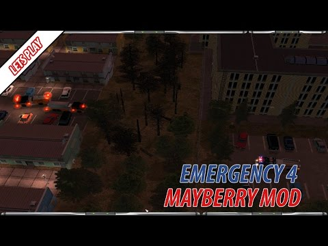 Emergency 4 Mayberry Mod Lets Play V1.5 (Episode 6) - Huge Electrical Fire