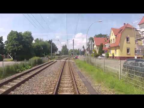 Linie 13: Eine Rundfahrt mit der rnv durch Heidelberg, Weinheim und Mannheim (Linie 5)