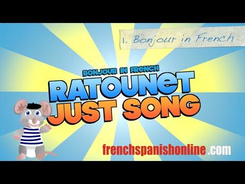 Ratounet Sings Bonjour and Au Revoir