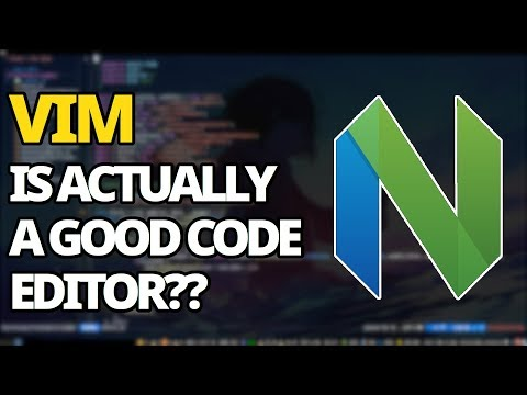 Vim: I Was Wrong, It's Actually A Good Code Editor
