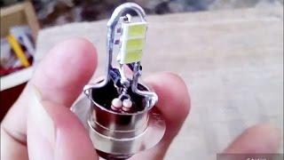 Membuat sendiri LED arus DC _ untuk Sepeda Motor