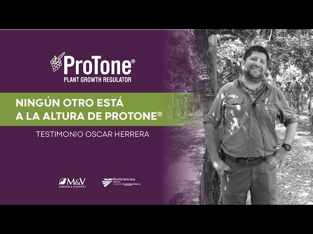 Protone® | Testimonio de Oscar Herrera