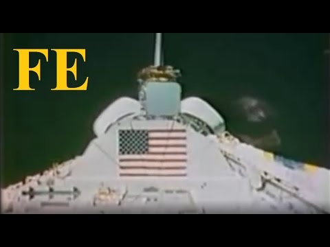 NASA - how to fake space badly in 1983 - GREAT find by Geoshifter - Flat Earth ✅