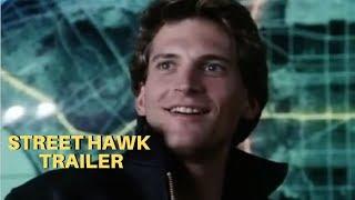 Gambar cover STREET HAWK (1985) THE MAN...THE MACHINE...Trailer #1 - Rex Smith - Joe Regalbuto