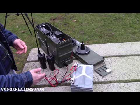 Portable Radio Repeater - VHF & UHF