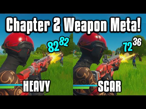 The UPDATED Weapon Meta In Fortnite Chapter 2! - New Best AR?