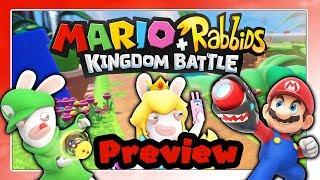 MARIO + RABBIDS KINGDOM BATTLE - Preview