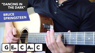 Dancing In The Dark Guitar Lesson - Bruce Springsteen Guitar Tutorial