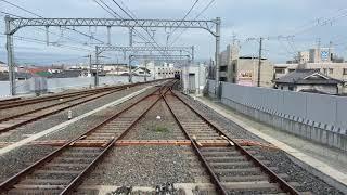 ネタ編成 阪神5001形5009F 回送車 甲子園駅