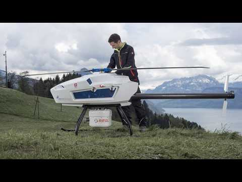NEW : Aeroscout Scout B-330 UAV Helicopter for 3D Lidar mapping