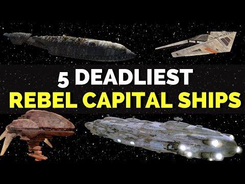 5 Deadliest Rebel Alliance Capital Ships | Star Wars Legends