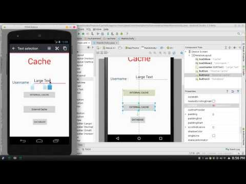 139 Android Studio Store Cache Internal & External