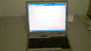 Dell Latitude D610 Laptop- 1.86GHz, 1GB RAM, CD-Burner/DVD, WI-FI