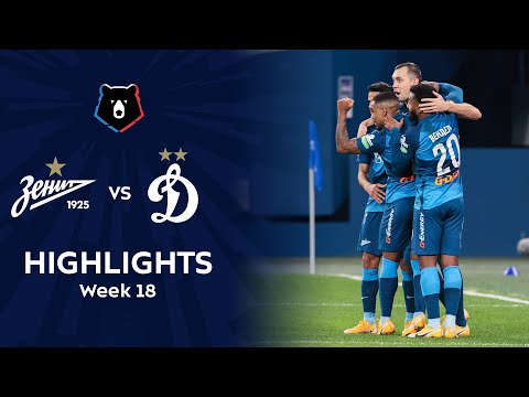 Zenit Petersburg Dinamo Moscow Goals And Highlights