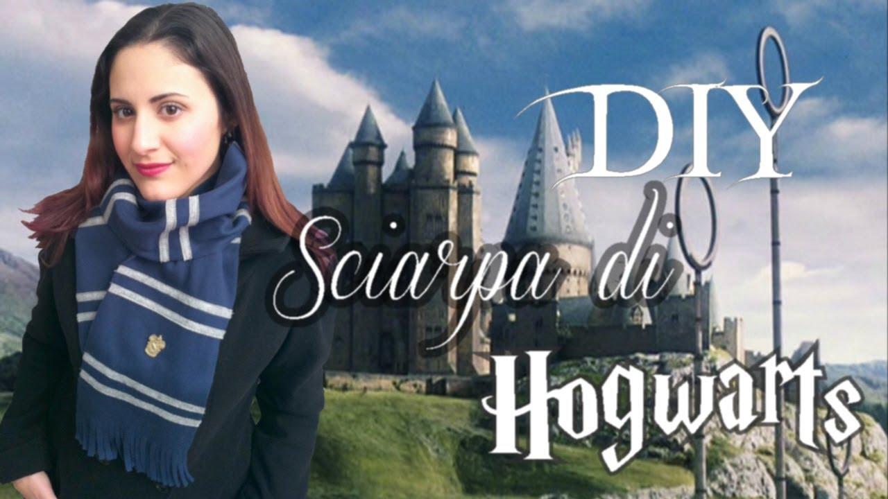 comprare popolare 7ab16 1ace7 ϟ Come Fare una Sciarpa di Harry Potter Fai Da Te ϟ