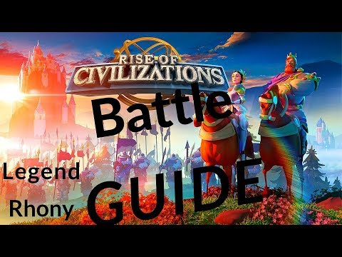 Rise of Civilizations - War battles/fights - tip's, advice's and guide  - kill event