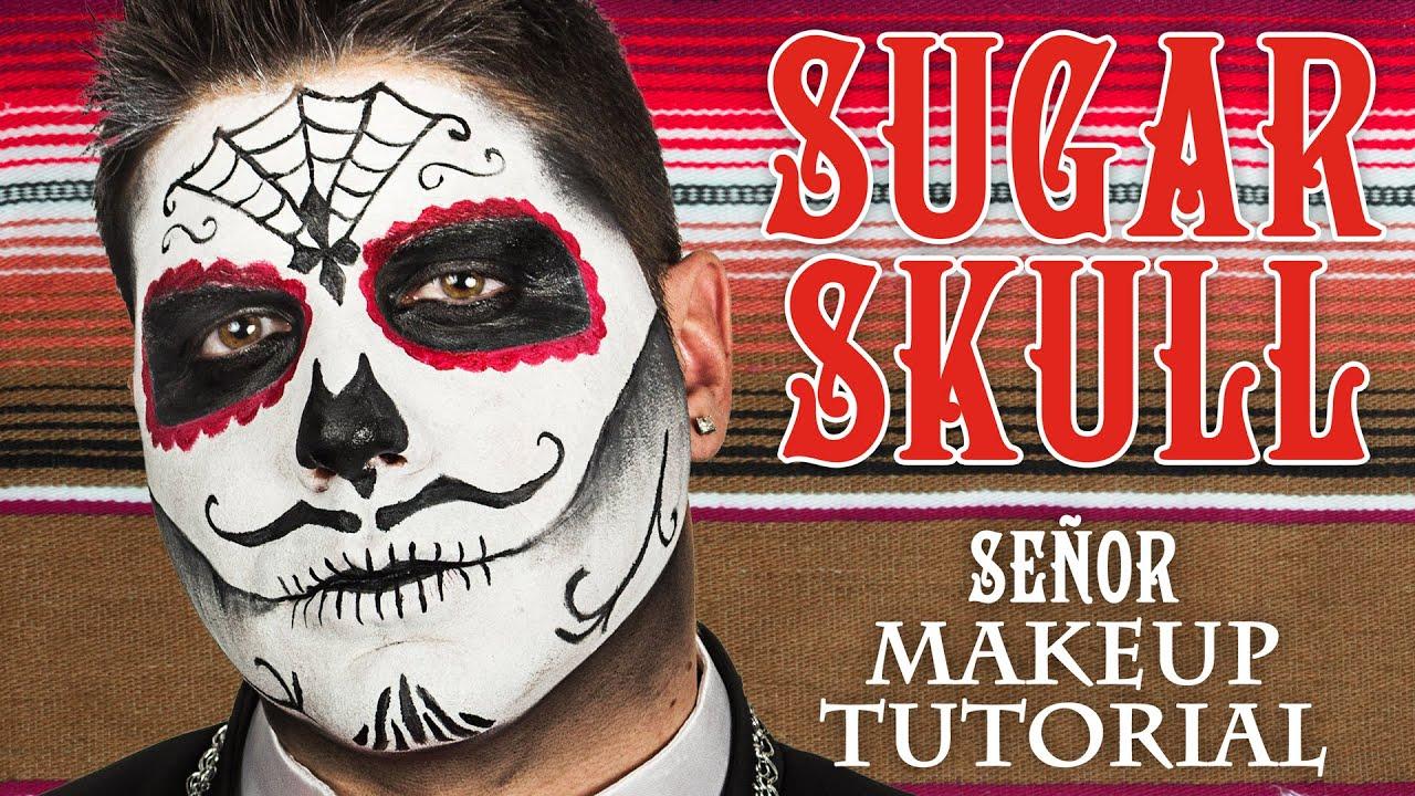 Male Sugar Skull Makeup Tutorial