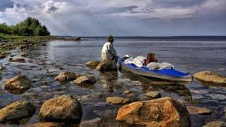 Белое море Рыбалка(Я сделал этот небольшой фильм не для тех, кто умеет ловить. Иногда в походе встречаются туристы, которые..., 2013-12-20T20:41:28.000Z)