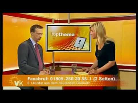 Kollaps im Live Fernsehen