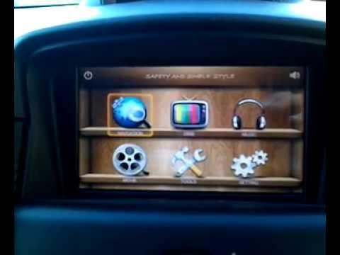 Русификация навигатора Gini V8000S в Chevrolet Cruze