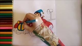 HOW TO COLOR || NODDY || CREATIVE AND COLORING PAGES TO LEARN  || FOR KIDS ||