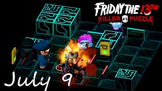 Friday the 13th Killer Puzzle Daily Death July 9 2020 Walkthrough