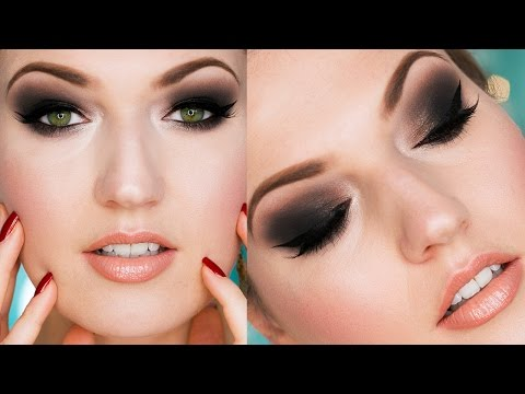The Classic Smokey Eye Evening Makeup