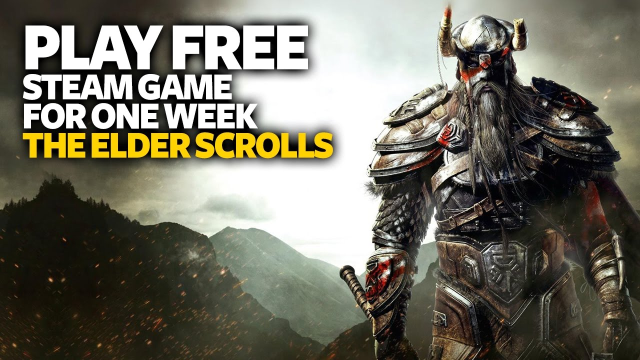 Play Free PC Game The Elder Scrolls Online - Free Steam PC Game (For One  Week)