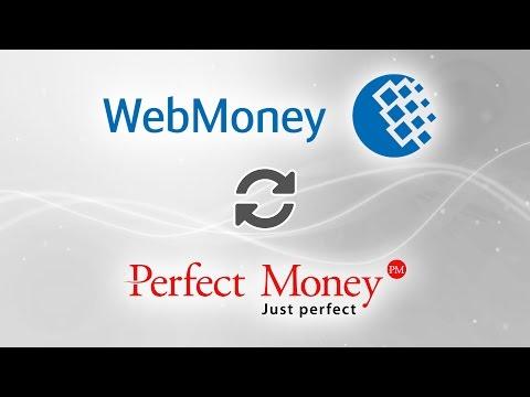 Как обменять средства в Webmoney WMZ на Perfect Money?