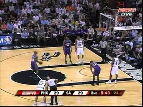 2007 NBA Playoffs R2.G6 Suns vs Spurs 05.19 Part 1 Chinese Audio