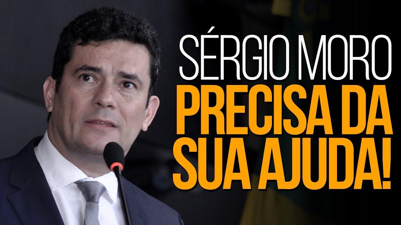 Sérgio Moro precisa da SUA ajuda! | Renan Santos