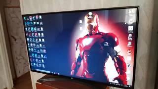 подключение жк телевизора к компьютеру