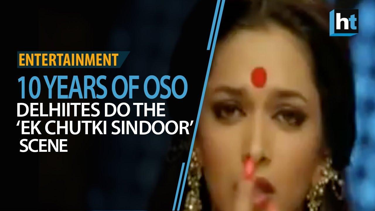 """10 Years of OSO: Delhiites Do The """"Ek Chutki Sindoor"""" Scene"""