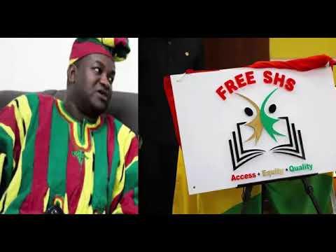 Free shs is a scholarship scheme. Ayariga