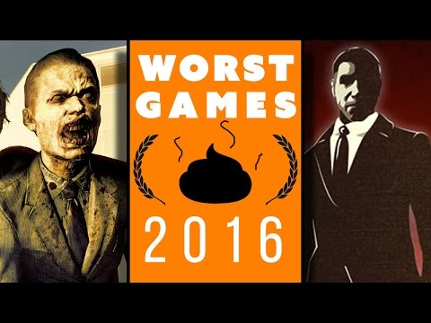 WORST GAMES of 2016 Gameplay!